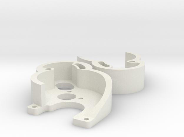 Axial SCX24 Deadbolt 130 V2 x2 in White Natural Versatile Plastic