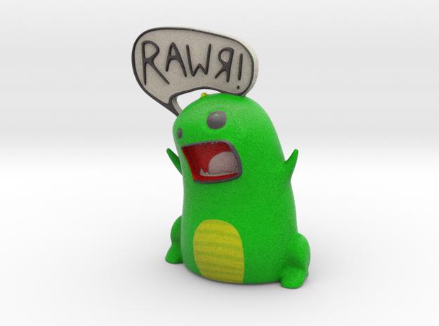 RAWR Dinosaur 3d printed