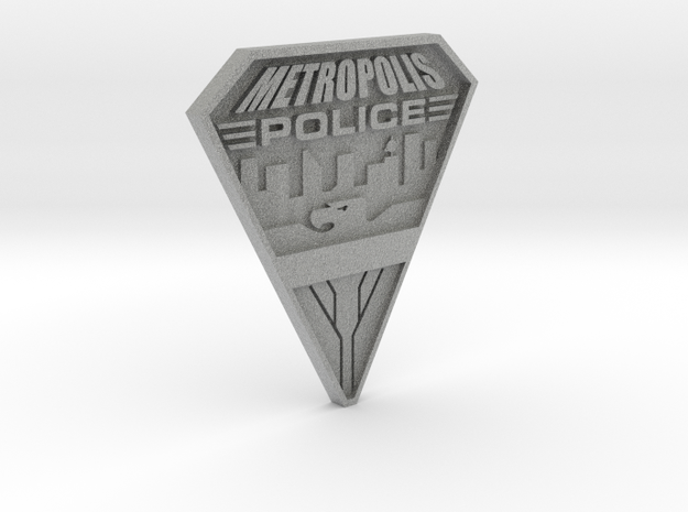 Replica Metropolis PD badge 3d printed