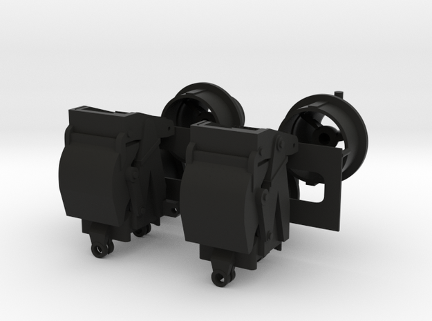 1/96 scale Waterjets - Stator and buckets Only in Black Natural Versatile Plastic