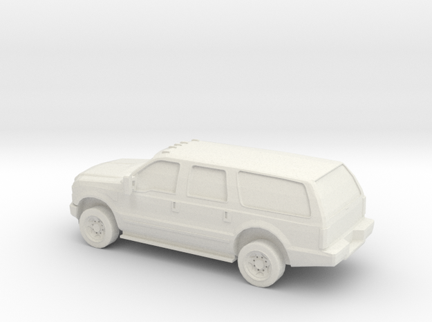 1/72 2010 Ford Excoursion in White Natural Versatile Plastic
