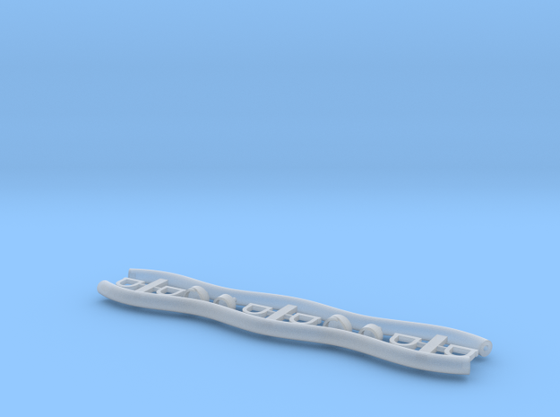 Fuelhoses 1 zu 40 in Smooth Fine Detail Plastic