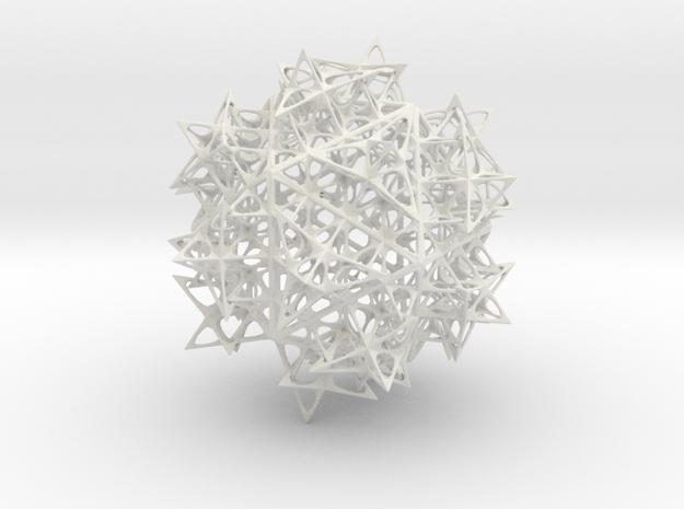 Fractal Icosahedron 140mm 3d printed
