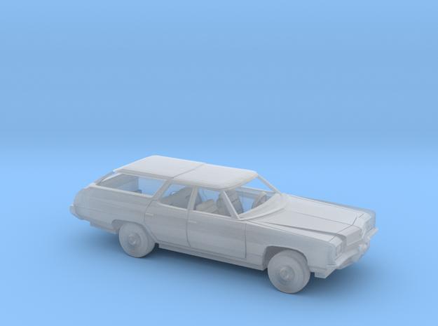 1/160 1972 Chevrolet  Impala Station Wagon Kit in Smooth Fine Detail Plastic