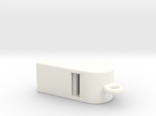 Whistle Pendant small 3d printed