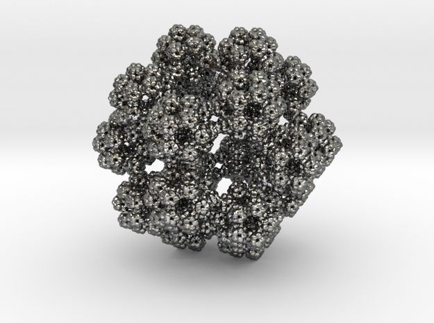 Fractal Dodecahedron Pendant 3d printed