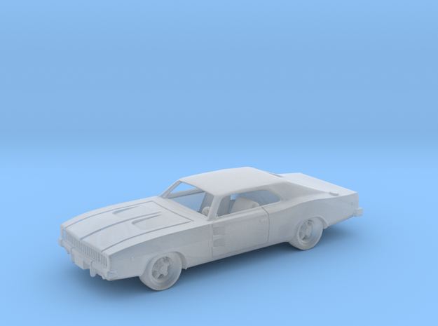 Dodge Charger RT 1968 1:87 HO in Smooth Fine Detail Plastic
