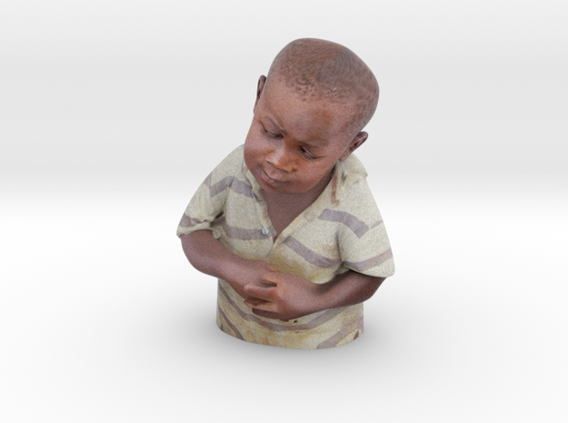 Skeptical African Child Bust