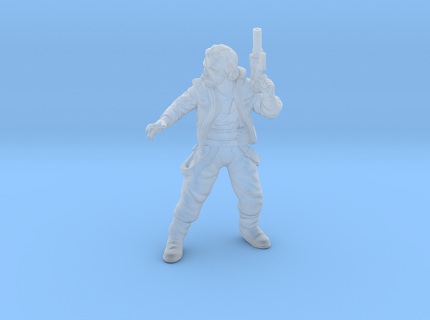 Insurgent Commander Dell Tarn in Smooth Fine Detail Plastic