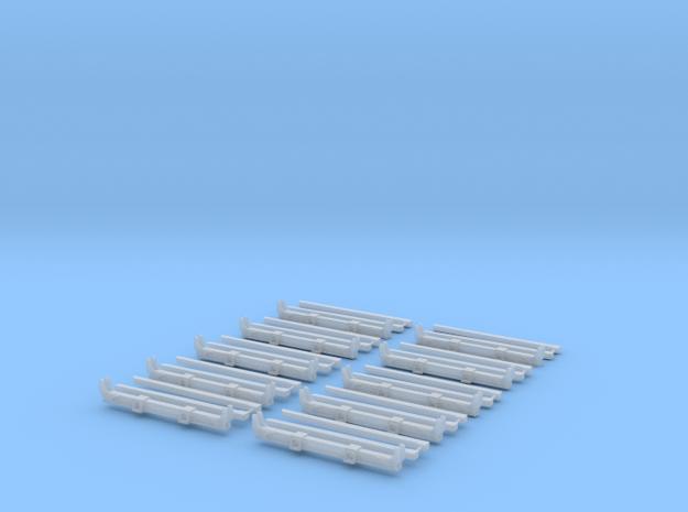 1/50 Rungenbausatz Kompl 10Stk.  in Smooth Fine Detail Plastic