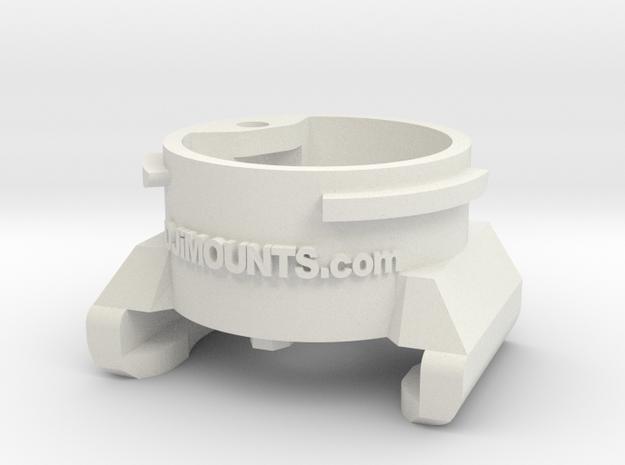 Inspire 2 Camera Connector in White Natural Versatile Plastic