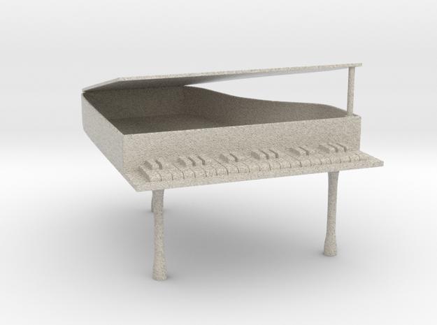 Grand Piano in Natural Sandstone