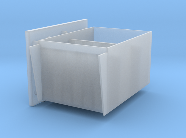 2 cm Ammo boxes hinges left 1 to 40 in Smooth Fine Detail Plastic