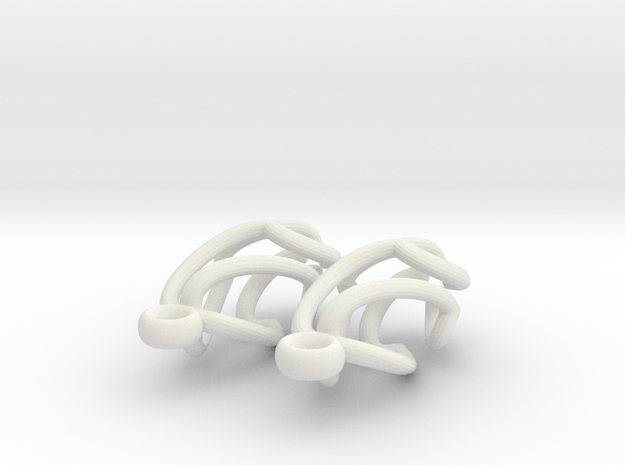 Swing Earrings 3d printed