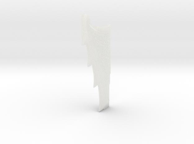 Nautilus Dorsal Fin B31 in Smooth Fine Detail Plastic