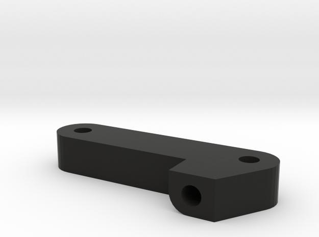 TZK004N Toyzuki Panhard Mount for Nuts in Black Natural Versatile Plastic