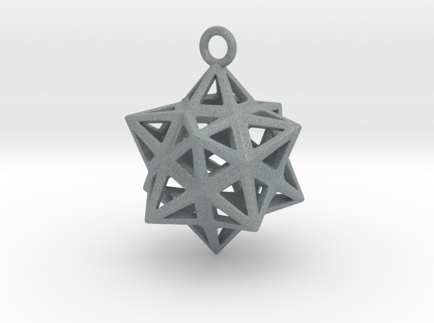 Dodecastar Pendant 3d printed