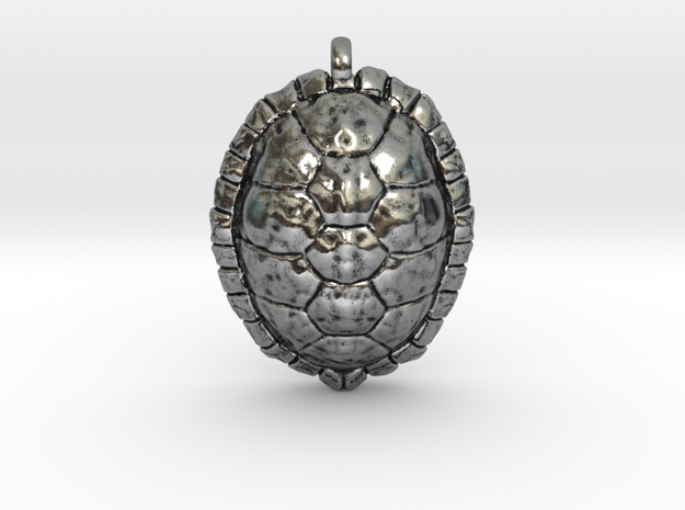 Turtle in Antique Silver
