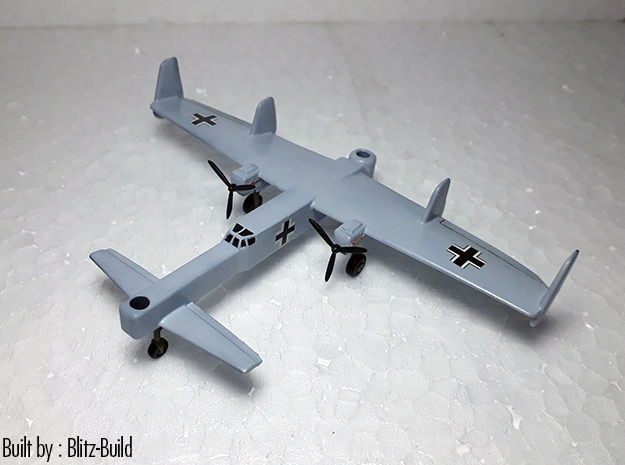 (1:144) Focke-Wulf Fw 42 Early Design (Gear down) in White Natural Versatile Plastic