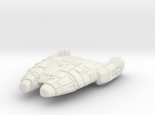 Hesod3 in White Natural Versatile Plastic