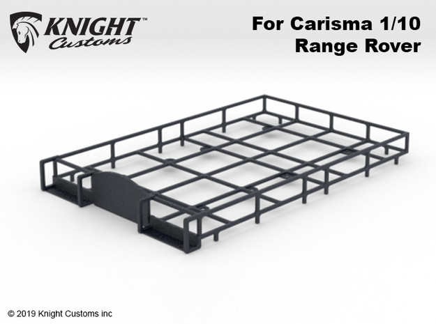 CA10006 Camel RR Roof Rack in Black Natural Versatile Plastic
