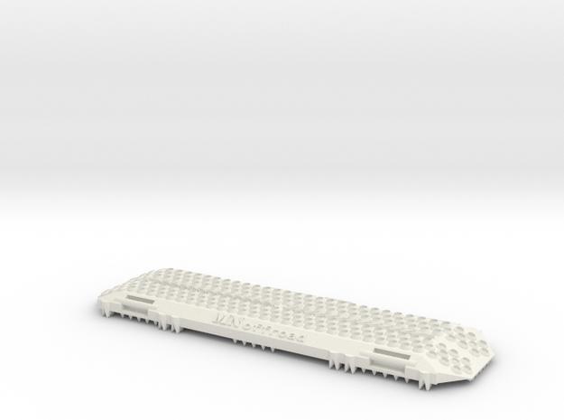 1:10 Scale Sandblech Offroad Traxxas 4x4 Defender  in White Natural Versatile Plastic