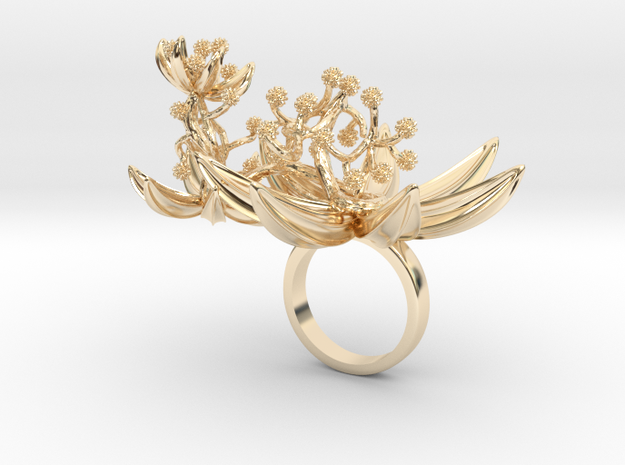 Lamaa - Bjou Designs in 14k Gold Plated Brass