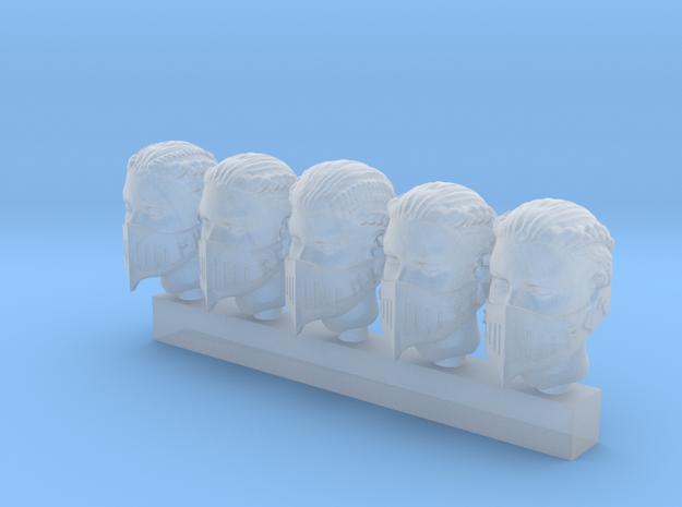 Valkyries Heads 2.0 (medium) in Smooth Fine Detail Plastic