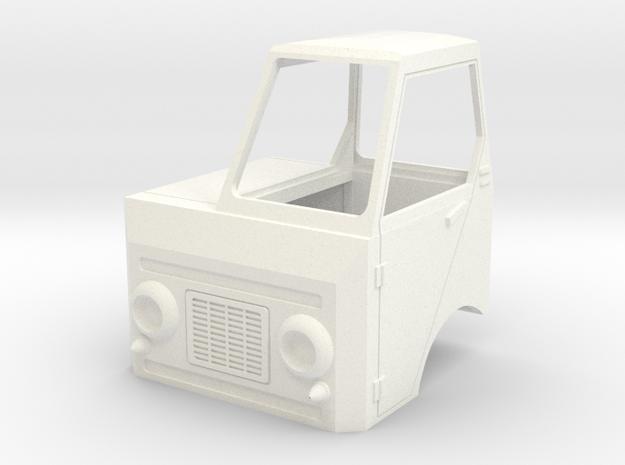 S2-802 Multicar22 nur FH in White Processed Versatile Plastic