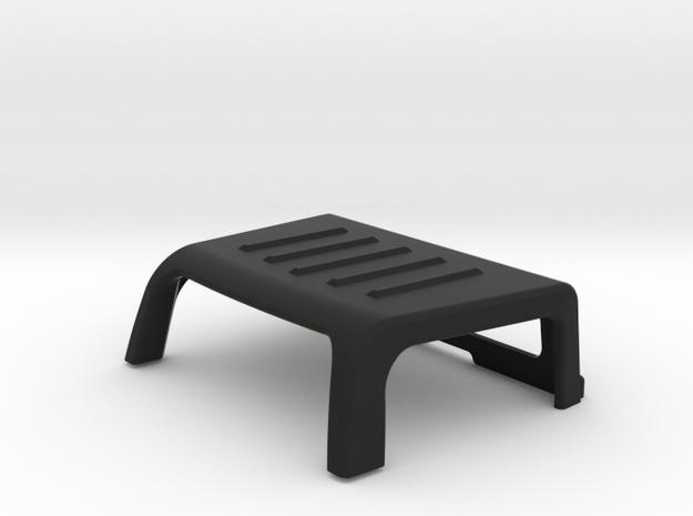 SCX24 Deadbolt Half cab  in Black Natural Versatile Plastic