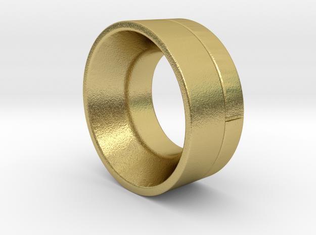 SCX24 Deadbolt Brass Wheel weight in Natural Brass