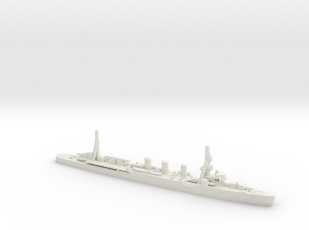 Japanese Kuma-class Cruiser in White Natural Versatile Plastic