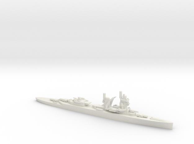 Dutch Cruiser De Ruyter in White Natural Versatile Plastic
