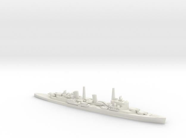 British HMS Belfast in White Natural Versatile Plastic