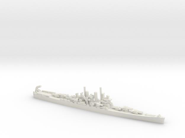 US St. Louis-Class Cruiser in White Natural Versatile Plastic: 1:1800
