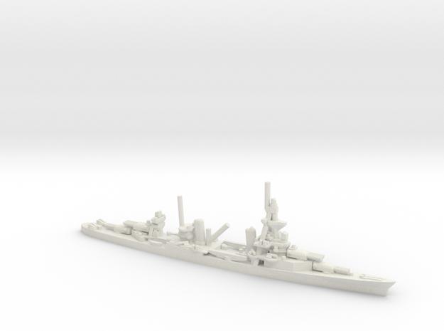 US Pensacola-Class Cruiser in White Natural Versatile Plastic