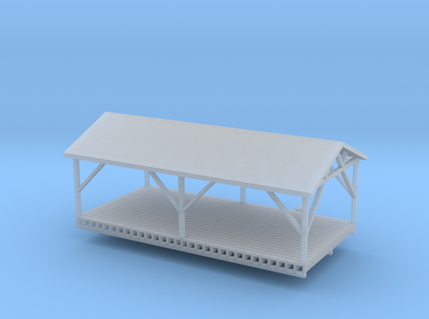 'N Scale' - Loading Dock in Smooth Fine Detail Plastic