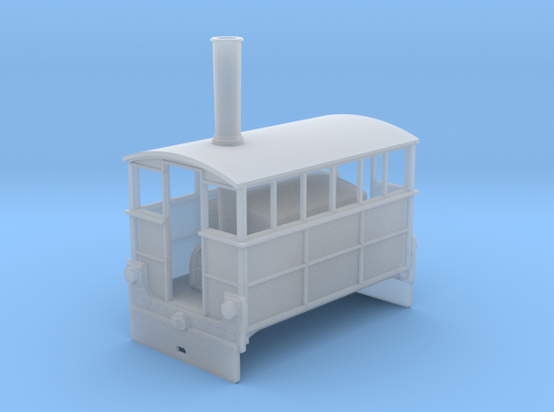Wantage tram Hughes Tram no4 HO scale in Smooth Fine Detail Plastic