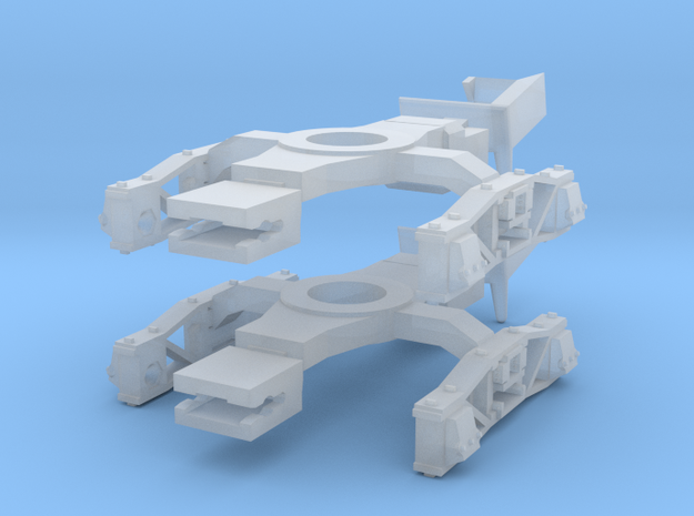 BogieDiamondFrame5ft6in_for_Rectank_GRF_02 in Smoothest Fine Detail Plastic