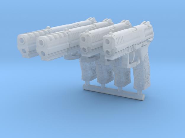 4x 1/12th P30Lgun