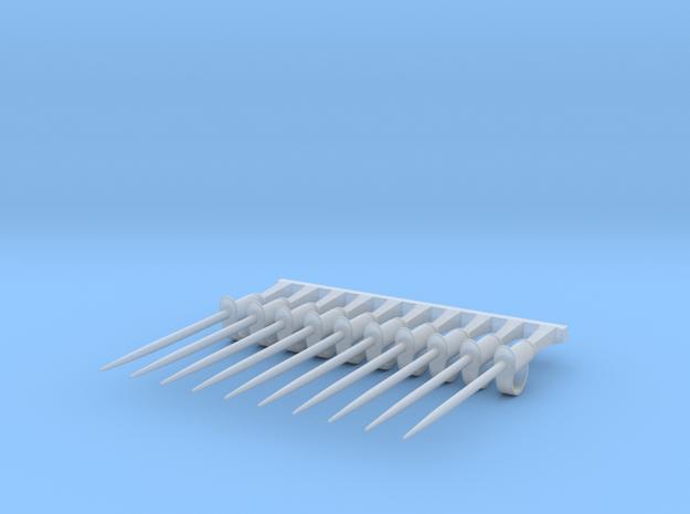 10 x Cuirrasier Sabre  in Smooth Fine Detail Plastic