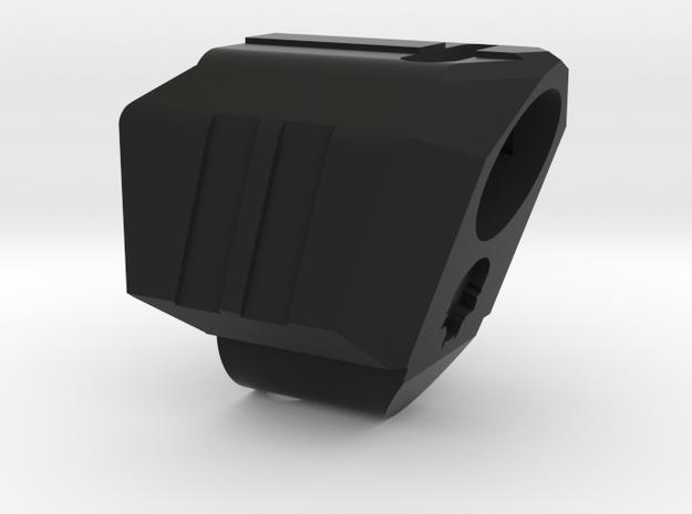 Deranged VP9 compensator CW in Black Natural Versatile Plastic