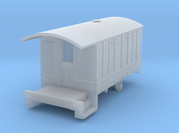 0-148fs-cavan-leitrim-4w-passenger-brakevan-body in Smooth Fine Detail Plastic