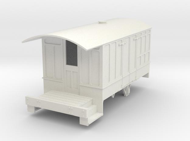 0-55-cavan-leitrim-4w-passenger-brakevan-body in White Natural Versatile Plastic