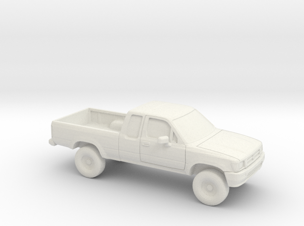 1/43 1988-97 Toyota Hilux in White Natural Versatile Plastic