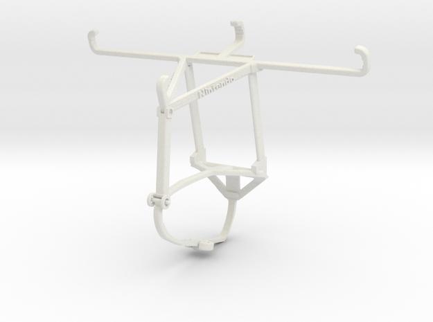 Controller mount for Switch Pro & Xiaomi Mi CC9 -  in White Natural Versatile Plastic