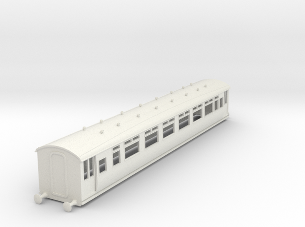 o-87-lnwr-M12-pp-comp-saloon-coach-1 in White Natural Versatile Plastic