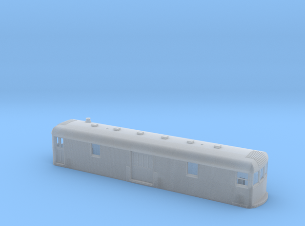 Illinois Traction/ITRR converted Freight Trailer in Smooth Fine Detail Plastic