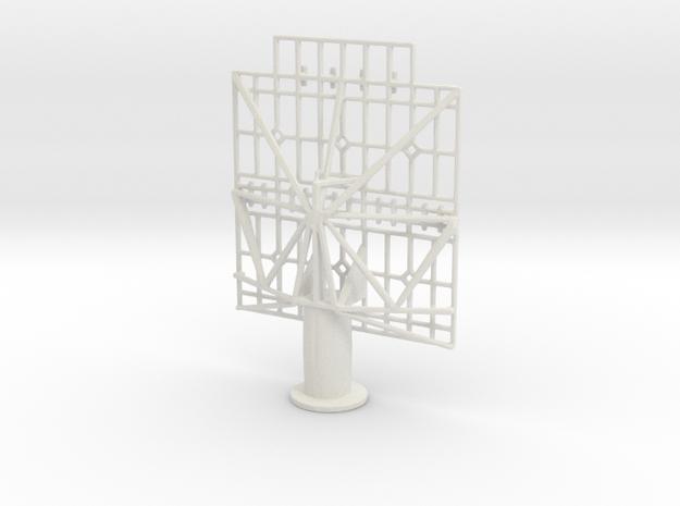 1/96 Scale WW2 USN SK Radar in White Natural Versatile Plastic