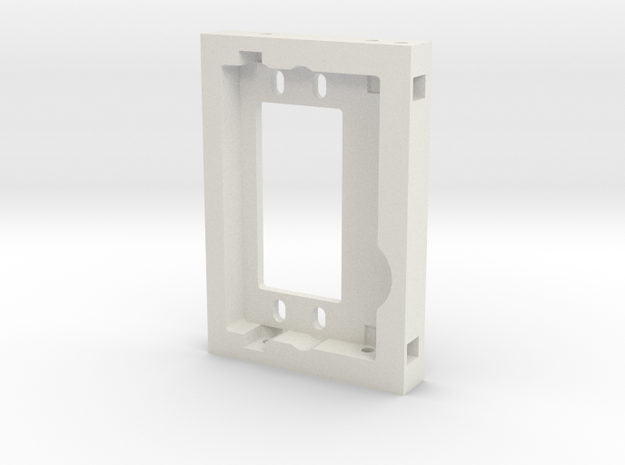 JaBird RC CMS Plate in White Natural Versatile Plastic